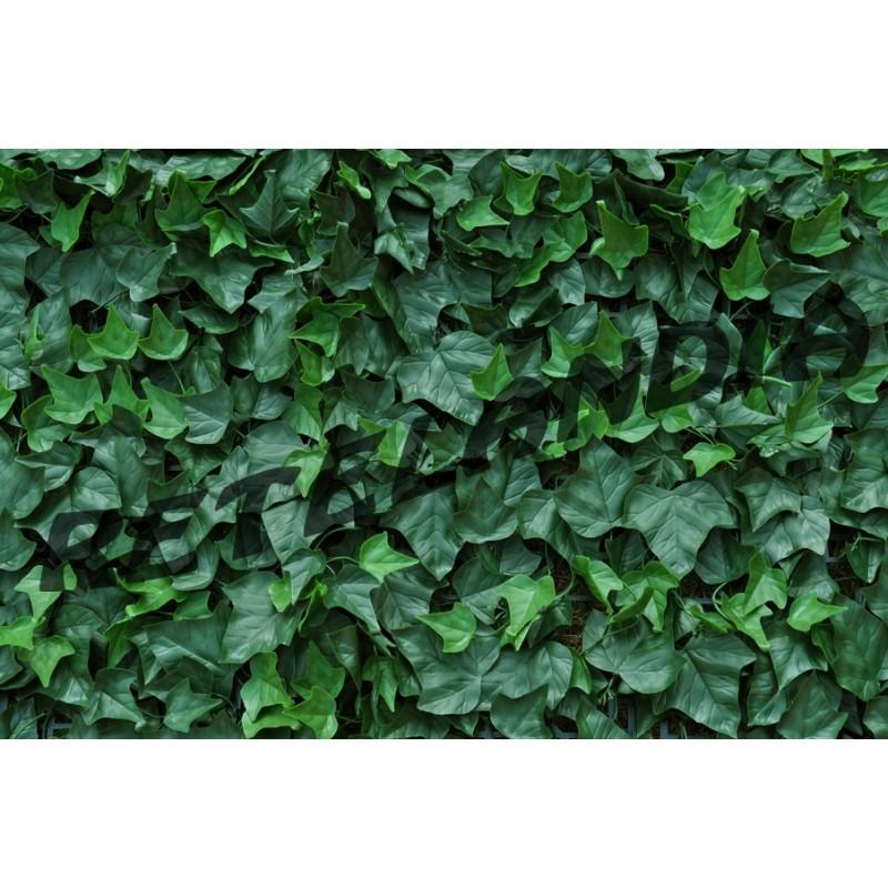 Siepe artificiale edera 50x50 vendita online consegna for Rete con foglie finte