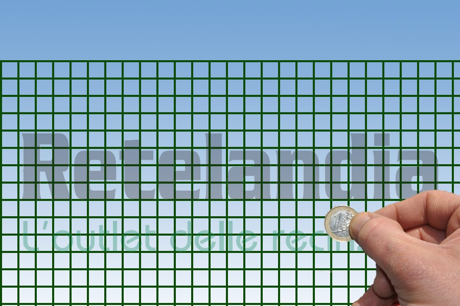 Reti In Plastica Per Voliere.Rete Plasticata Maglia Cm 1 3x1 3 Vendita Online Consegna