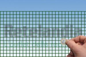 RETE PLASTICATA maglia cm 1.3x1.3 rotolo m 10