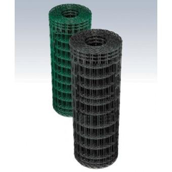 Rete recinzione elettrosaldata plasticata ideale robusta ed elegante per delimitare giardini di abitazioni e siti produttivi.