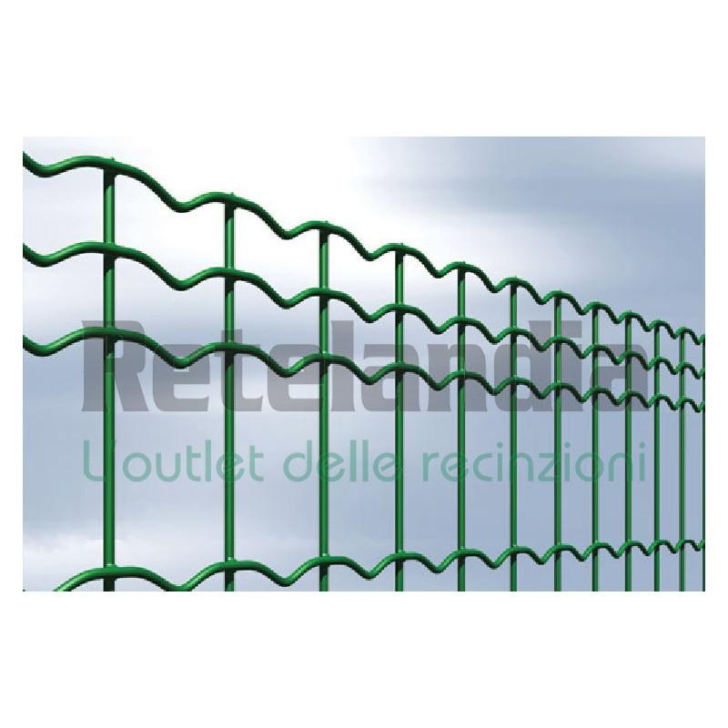 Rete plasticata maglia cm 5x10 vendita online consegna - Recinzione economica giardino ...