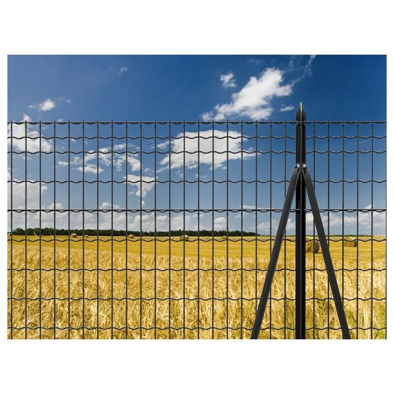 Rete Di Recinzione Per Giardino.Rete Recinzione Antracite Maglia Cm 5x10 Vendita Online