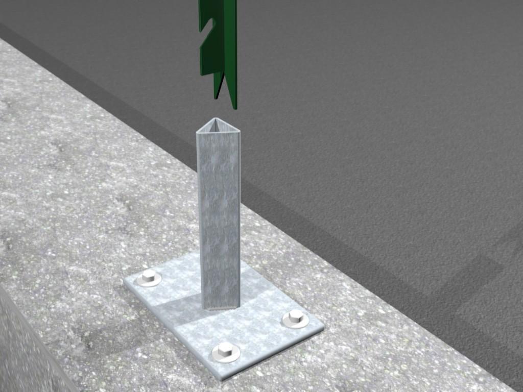 Paletti Per Recinzione Plastica.Una Gamma Specializzata Di Reti Per Recinzioni Con Paletti E