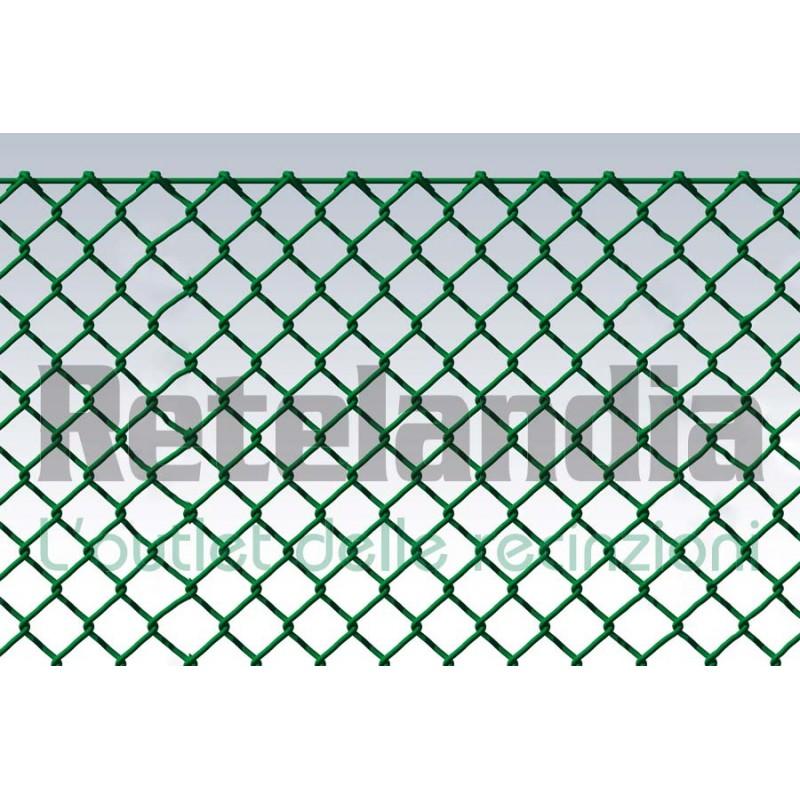 Rete Per Recinzione Altezza 2 Metri.Offerta Outlet Rete Plasticata Maglia