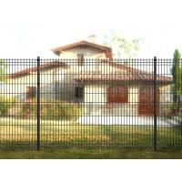 Pannelli ANTRACITE micaceo recinzione modulare a cancellata ferro antichizzato