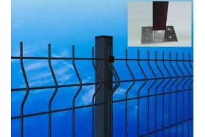 Pali per pannelli recinzione con piattina da TASSELLARE