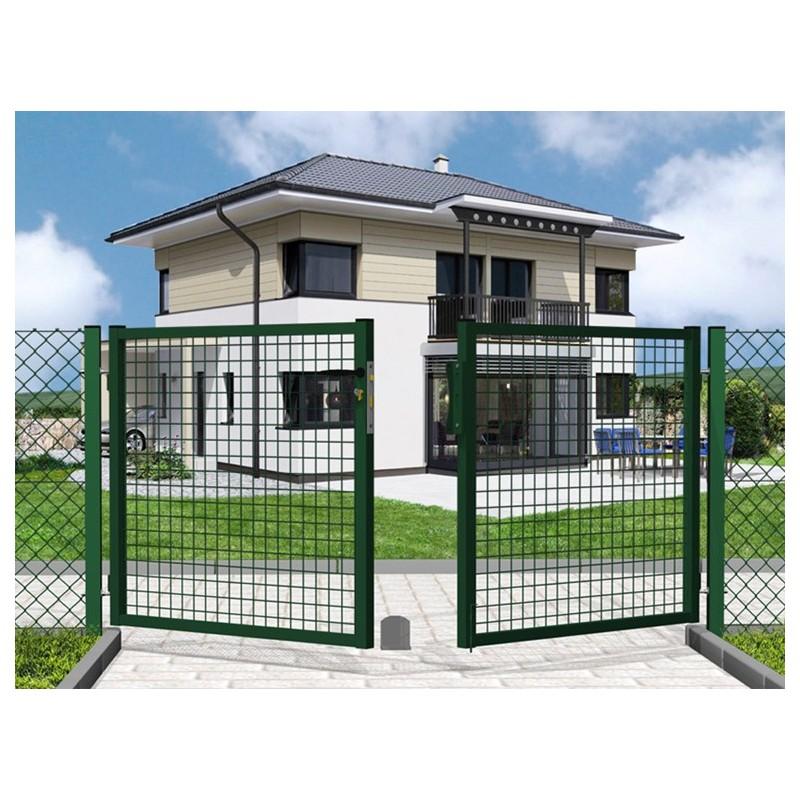 Cancelli carrai 2 ante per recinzioni vendita online for Immagini recinzioni