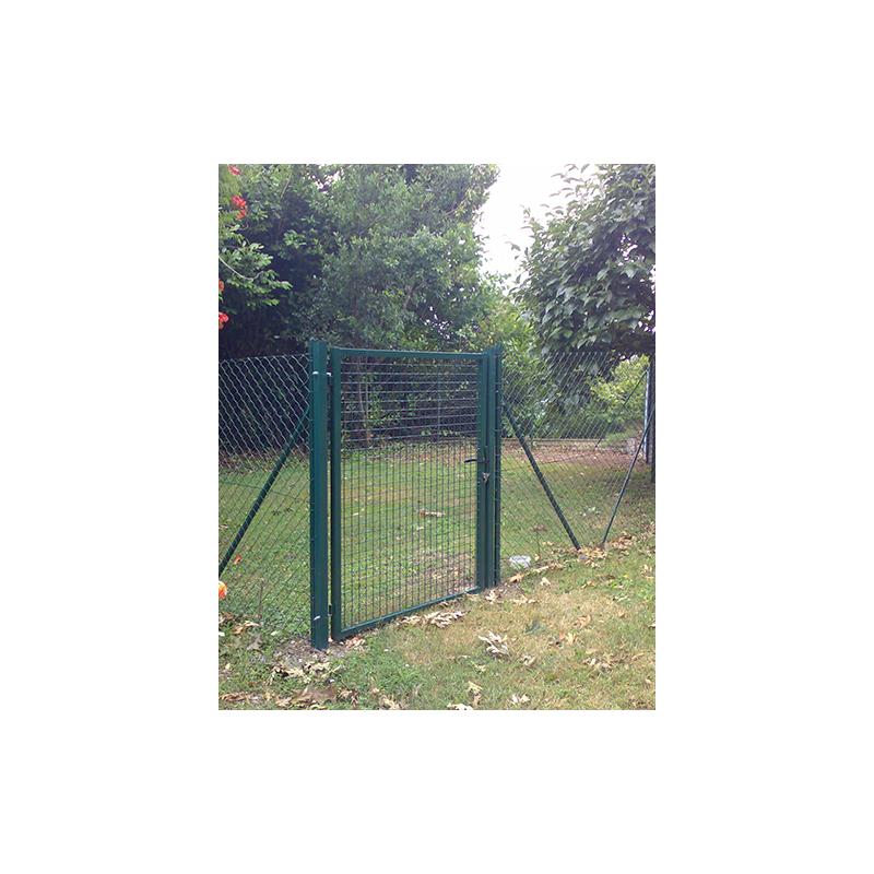 Cancelli pedonali per recinzioni vendita online for Rete stirata per cancelli