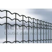 Rete recinzione ANTRACITE plasticata ideale robusta ed elegante per delimitare giardini di abitazioni e siti produttivi
