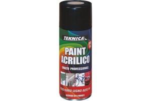 Vernice spray per recinzioni metalliche