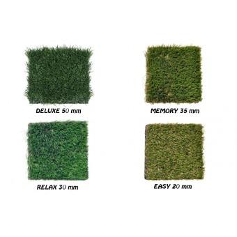 Campioni prato sintetico erba sintetica artificiale per giardini
