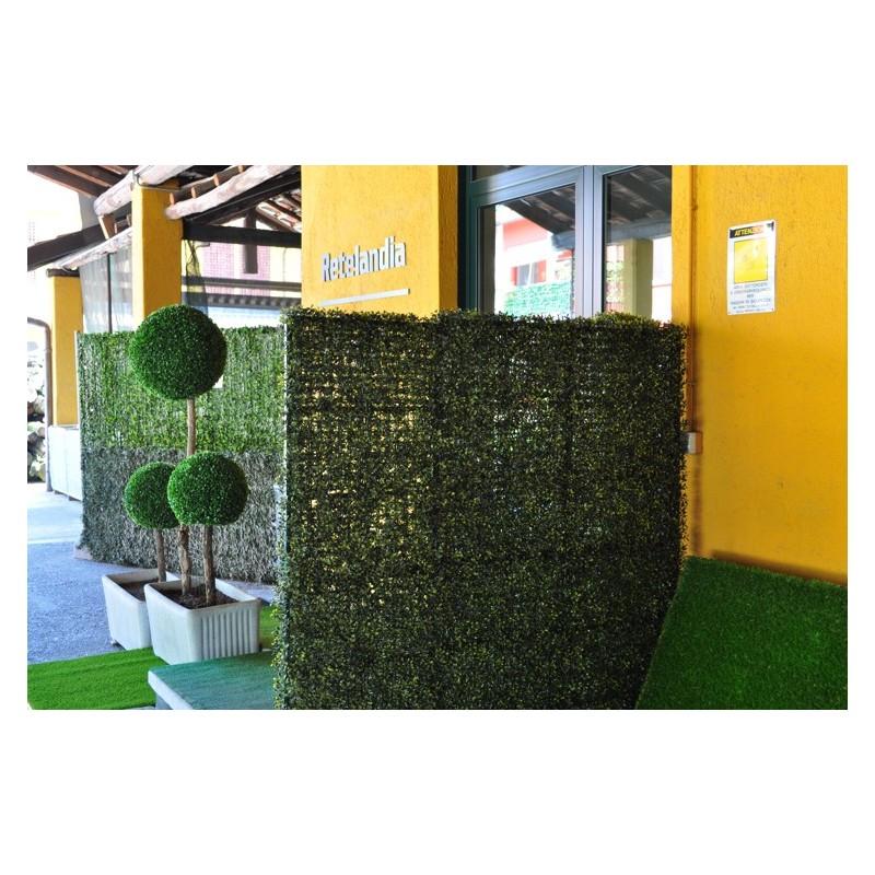 Fioriera separ con siepe artificiale autoportante vendita online - Separe da giardino ikea ...