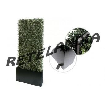 Fioriera separé giardino con siepe artificiale autoportante